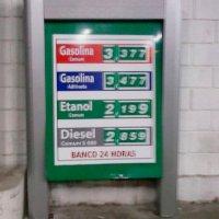 Placa de Preços e Produtos