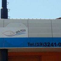 adesivo aplicado na fachada